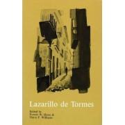 La Vida de Lazarillo de Tormes y de sus Fortunas y Adversidades: with an English Introduction by Everett Hesse