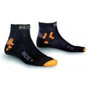 X-Socks Bike Racing Socks Short Black 39-41 Radsocken