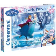"Clementoni ""Frozen"" Jewels Puzzle (104 Piece)"