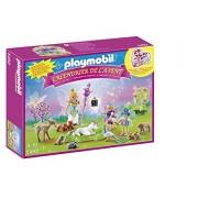 """Playmobil Calendario de Adviento - Calendario de Navidad """"Unicornio en Tierra de Hadas"""" (5492)"""