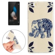 Huawei P8 Elephant Pattern TPU Protective Case