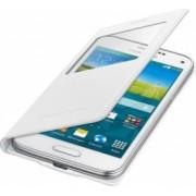 Husa Flip Samsung S-view Copper Galaxy S5 Mini G800 White