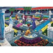 Bits and Pieces - 1000 Piece Murder Mystery Puzzle - Murder at the Museum by Artist Gene Dieckhoner - Solve the Mystery - 1000 pc Jigsaw by Bits and Pieces