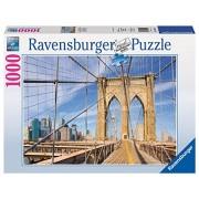 Ravensburger 19424 - Puzzle 1000 Pezzi, Ponte di Brooklyn, Cartone