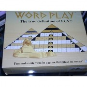 WORD PLAY the most exciting game since Scrabble and Trivial Pursuit! More than 3600 mystery words with progressive dif