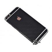 """Folie Iphone 6 / Iphone 6S """"Carbon fiber gear"""" TIP CARBON BLACK + GRATUIT FOLIE PROTECTIE ECRAN"""