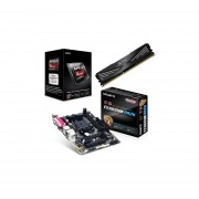 Kit Actualizacion AMD Procesador A-Series A6 6400K Dual Core 3.9GHz + Tarjeta Madre GIGABYTE GA-F2A68HM-DS2H + Memoria DDR3 Adata XPG 8GB 1600MHz-Negro