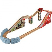 Fisher-Price Thomas the Train Wooden Railway Speedy Surprise Drop Set