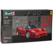 Ferrari F50 coupé Putrefacción 1996-1997 07370 Bausatz Kit 1/24 Revell Modell Auto mit oder ohne individiuellem Wunschkennzeichen - Mit Wunschkennzeichen