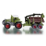 Siku series 16 tractor with foresttrailer