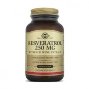 RESVERATROL 250mg WITH RED WINE EXTRACT 60 Softgels