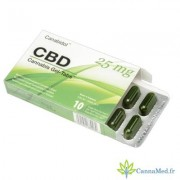Canabidol UK Capsules de CBD Gel-Tabs