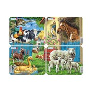 Larsen Mini Puzzle - Farm M5