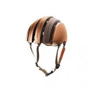 Brooks Casco da bicicletta per adulti J. B. Classic, Unisex, Fahrradhelm J. B. Classic Helmet, brown Prince of Wales/Copper, XL