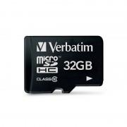 Card Verbatim microSDHC 32GB Clasa 10