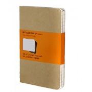 Moleskine 944364 - Pack de 3 cuadernos con rallado horizontal, 9 x 14 cm