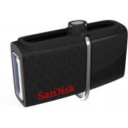 SanDisk SDDD2-128G-GAM46/SDDD2-128G-G46 128 GB OTG Drive(Black, Type A to Micro USB)