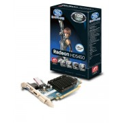 Placa video SAPPHIRE 1024 MB; GDDR3; 64 bit; PCI-E 16x; AMD Radeon HD 5450; VGA; DVI; HDMI