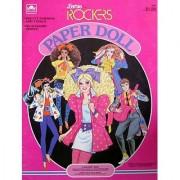 Barbie And The Rockers Paper Doll Book W Derek Barbie Dana Dee Dee And Diva Dolls - 1986