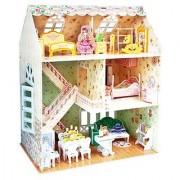 CubicFun P645H Dreamy Dollhouse Puzzle