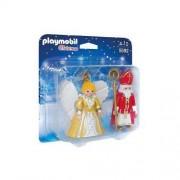 Playmobil Św. Mikołaj i bożonarodzeniowy anioł 5592 - BEZPŁATNY ODBIÓR: WROCŁAW!