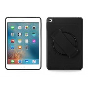 Griffin AirStrap 360 posteriore Nero-Custodia per tablet, in silicone, colore: nero, Apple iPad mini 4, anti polvere e Resistente ai graffi)