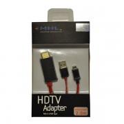 CABO ADAPTADOR HDTV COM USB MICRO USB