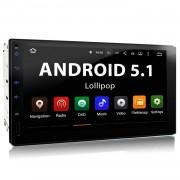 "XOMAX ""XOMAX XM-2VRSUA738: 2DIN Android 5.1 Navi Autoradio mit 7 Zoll Touchscreen Monitor, Bluetooth, SD und USB"""