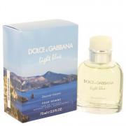 Dolce & Gabbana Light Blue Discover Vulcano Eau De Toilette Spray 2.5 oz / 73.93 mL Men's Fragrance 513443
