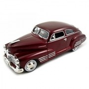 1948 Chevy Aerosedan Fleetline Diecast Car Model 1-24 Blue Motormax