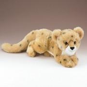 Cheetah Cub Lying Plush Toy