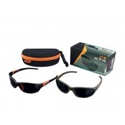 Ochelari Fox Green Frame XT4 Sunglasses Brown Lenses
