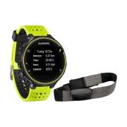 Smartwatch Garmin Forerunner 230, Negru/Galben + monitor cardiac premium