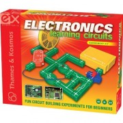 Thames & Kosmos 615819 Electronics Learning Circuit Science Experiment Kit With Coloring Book