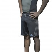 Adidas Grappling Short Beluga Zwart - XL