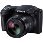 Aparat Foto Digital Canon PowerShot SX412IS, 20 MP, Filmare HD, Zoom optic 40x (Negru)
