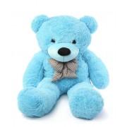 Blue 3.5 Feet Bow Teddy Bear