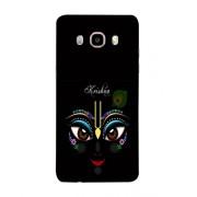 PrintVisa Designer Back Case Cover for Samsung Galaxy J7 (6) 2016 :: Samsung Galaxy J7 2016 Duos :: Samsung Galaxy J7 2016 J710F J710Fn J710M J710H (Illustration Of Krishna Artistic Design)
