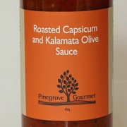 Roasted Capsicum and Kalamata Olive Sauce 450g
