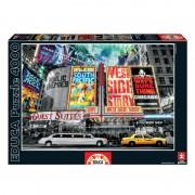 Educa New York-i plakátok puzzle, 4000 darabos