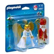 Playmobil Navidad - San Nicolás y Ángel (4887)