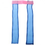 Magideal Kids Indoor Outdoor Waist Belt Chasing Tearing Off Ribbon Game Toy Blue