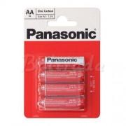Philips 4 x bateria cynkowo-węglowa Panasonic R6 AA (blister)