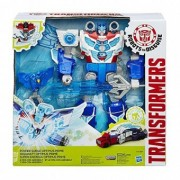 Transformers Robots in Disguise Power Surge Optimus Prime and Aerobolt B7066
