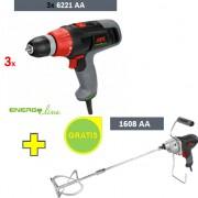 Električni odvijač Skil 6221 AA + Mešač Skil 1608AA