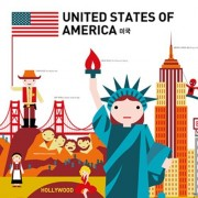 Educational Toy Graphic book - GO! GLOBAL Poster (United Stated of America)