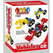 Little Treasures VEHICLES Chain Links Building block mega 100 pieces toy set for children 3+ creative thinking and build