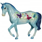 Breyer Butterfly Kisses - Limited Edition - Blue - 61088
