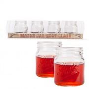 """""""Mason Jar Shot Glass Set of 4"""""""