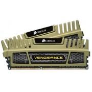 Corsair Ven K2 Kit Memoria D3 da 8 GB, 2x 4 GB, Nero